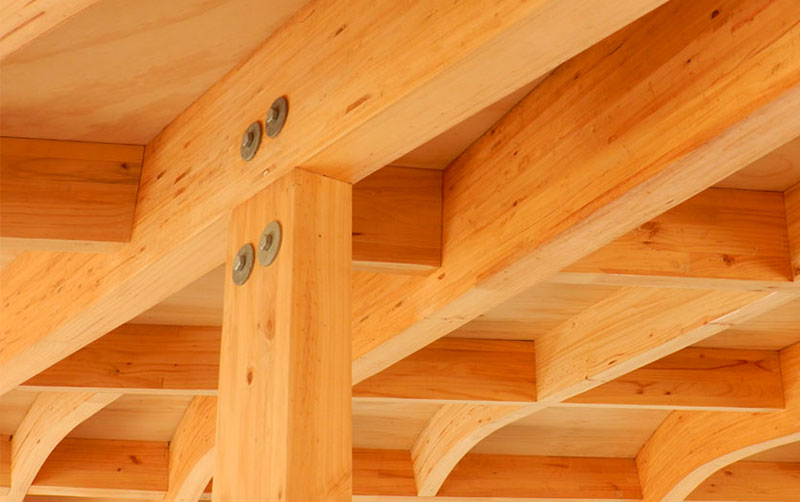 Detalla maderas laminadas Ingelam